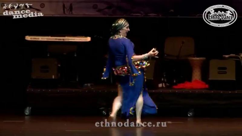 22-08-2015 EthnoDance 2015 Татьяна Дорош. Соло с сагатами. Pavava.
