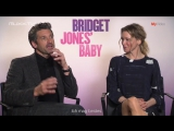 Bridget Jones- Interview with Renee Zellweger  Patrick Dempsey