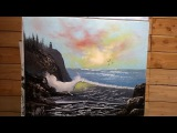 Painting With Magic Wave Of Light wet on wet oil painting season 3 ep 4