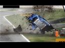 Аварии на ралли 7 WRC. Раллийные автомобили в хлам. Подборка раллийных аварий на авто гонках
