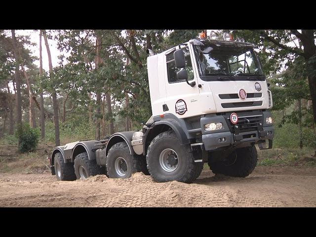 AgriTruck Tatra Phoenix 8x8 testdrive