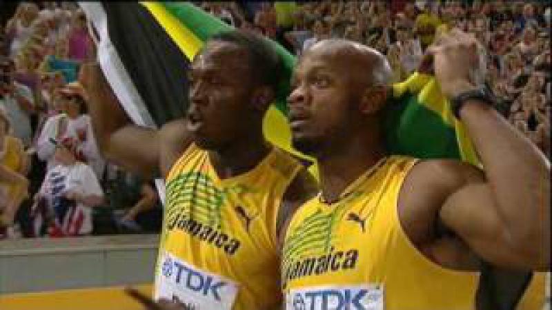 Usain Boltin ME 100m 9:58 Berliinissä! - Mertaranta! [HQ]