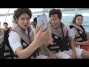 [ENG SUB] BTS Has Fun On The Boat While The Sunshine Is Killing Them