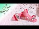 Туфли для куклы своими руками Миниатюра Туфли для куклы из полимерной глины Полимерная глина DIY