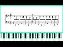 Vladimir Titov - Game Of Sparkling Rain Op.3 №2 (piano score)