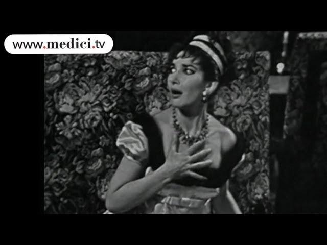 Maria Callas and Tito Gobbi - Puccini - Tosca