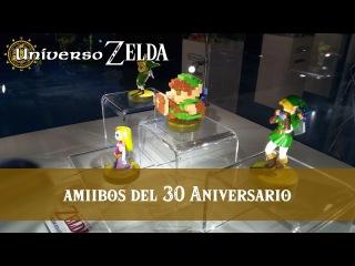 Figuras amiibo del 30 Aniversario de Zelda