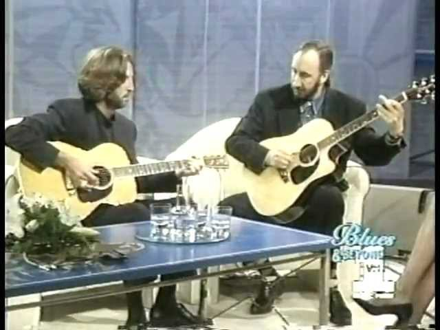 Eric clapton Pete townshend - Standin' Round Crying