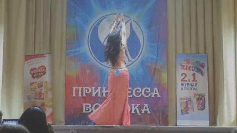 Aanastasiya Afanasyeva. The Pricess of the East Festival. Nov15, N.Novgorod