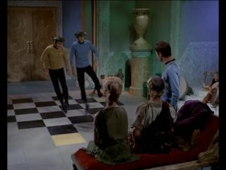 Скачущие Кирк и Спок (Стар трек/ TOS Star Trek/ Звёздный путь) 3х10