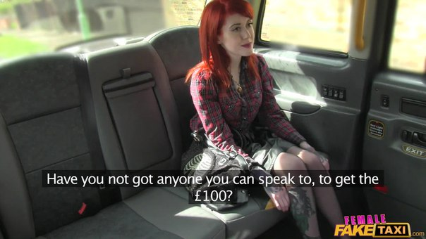FemaleFakeTaxi – Angel Long And Roo Morgue – Lesbian Dominates Tattooed Redhead