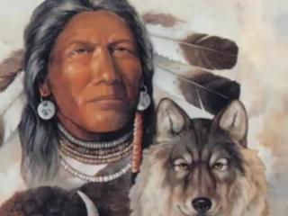 Native american  indian spirit