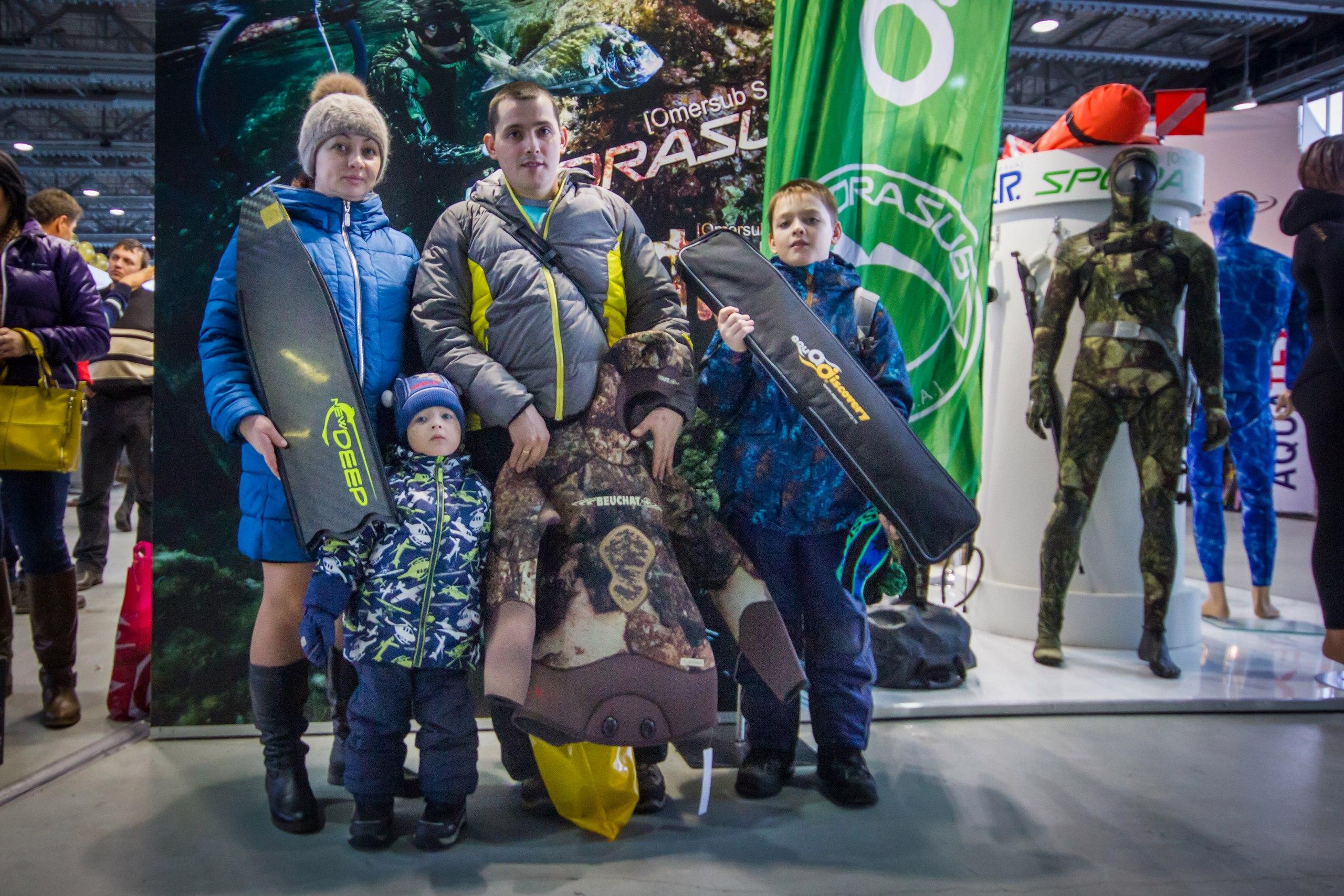 Выставка подводного человека Moscow Dive Show 2017