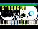 Sans Battle - Stronger Than You | Synthesia Piano Tutorial