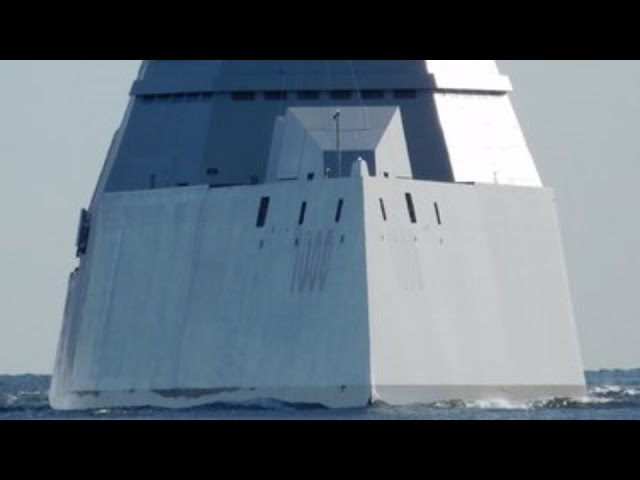 USS ZUMWALT in ACTION! DDG-1000 sea trials and Long Range Land Attack Projectile weapons featured.