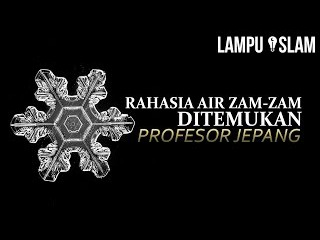 Rahasia Air Zam-Zam Ditemukan Profesor Jepang