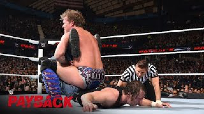 Chris Jericho locks in the Walls of Jericho against Dean Ambrose: WWE Payback 2016 on WWE Network