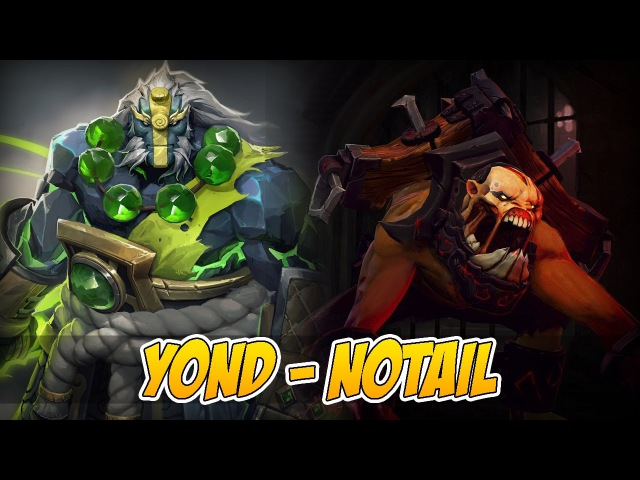 Y0ND играет с BigDaddy N0tail — Battle Roar?! 6700 MMR.