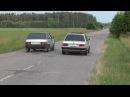 BMW E30 vs VAZ 2109