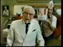 1980 Kentucky Fried Chicken Colonel Sanders Commercial