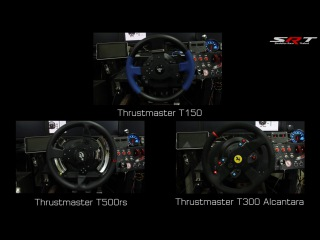 Thrustmaster T150, T300, T500rs FFB Test