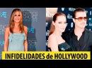 20 PEORES y MAS FAMOSAS Infidelidades y Triangulos Amorosos de Hollywood