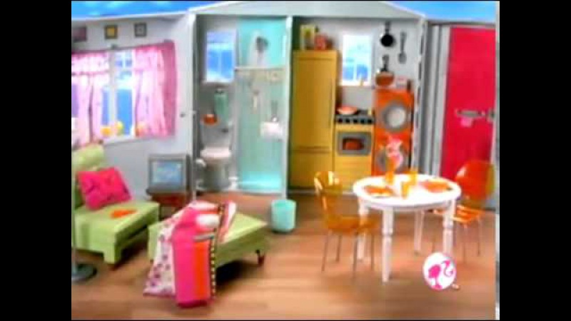 Barbie Totally Real House Commercial [2006]
