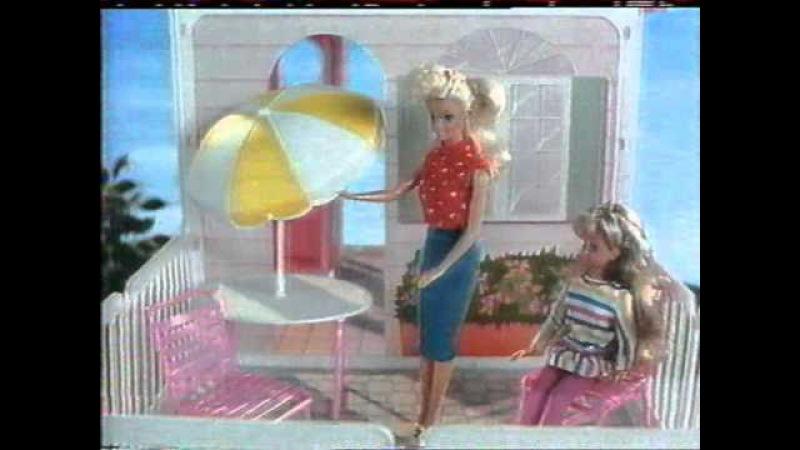 Barbie's house / dům - old TV commercial from 1992 / stará reklama z roku 1992