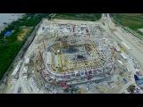 Строительство стадиона в Ростове-на-Дону (05.2016)
