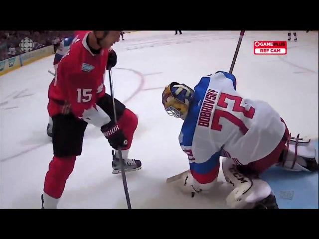 2016 World Cup of Hockey: Team Russia vs Team Canada 9.24.16 (HD)