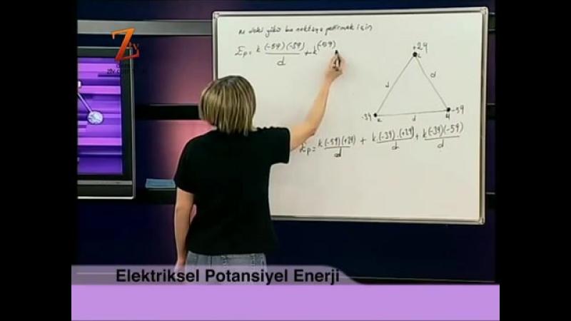 Fizik YGS LYS 99 DERS ELEKTRİKSEL POTANSİYEL ENERJİ