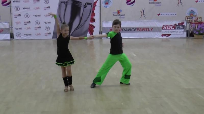 SDC2016 Final D-class Kids 2-е место №114 Павел Корякин - София Пханаева