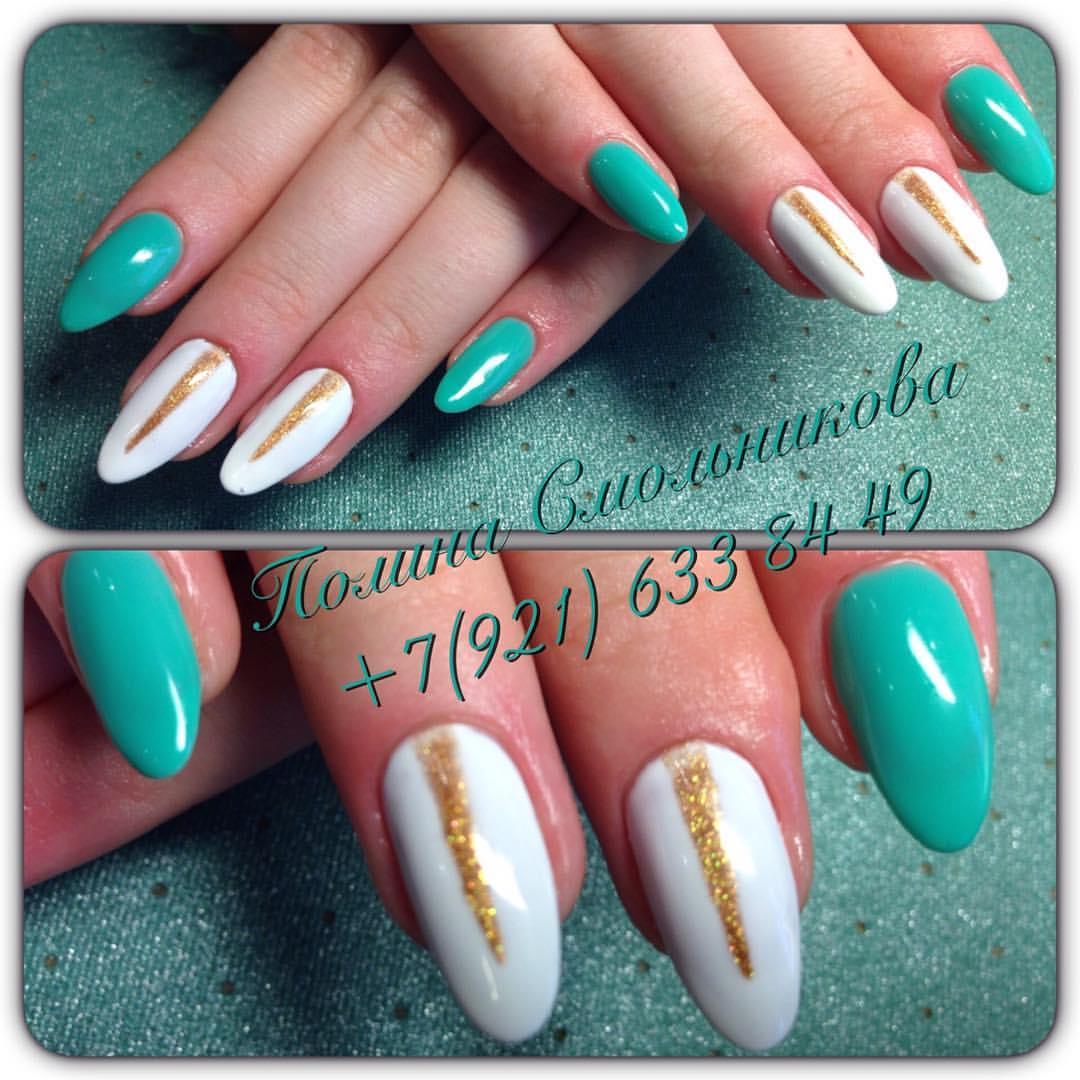 Свадебный дизайн ногтей комендантский пр