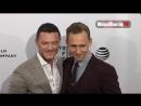 Tom Hiddleston, Sienna Miller, Luke Evans at High-Rise premiere 2016 Tribeca Film Festival - YouTube