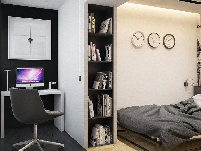Концепт квартиры 38,7 м.