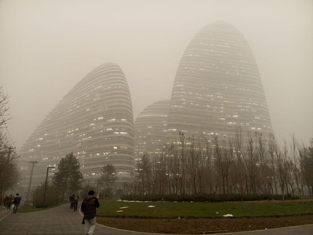 Пекин. Уровень загрязнения достиг критической отметки