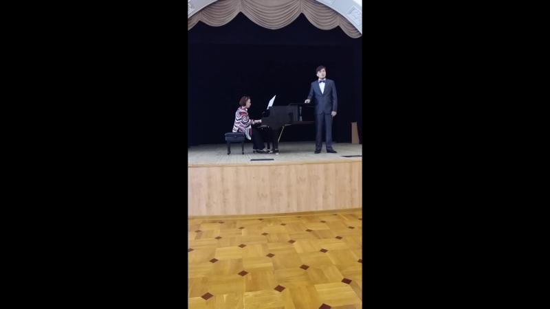 Никола Порпора. Ария из оперы Полифем- Alto Giove