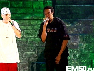 Eminem ft. Dr. Dre - Forgot About Dre live Santa Monica, California 2001 (eminem50cent.ru)