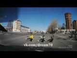 Танец на светофоре. Подарок на день рождения. Томск. 2016