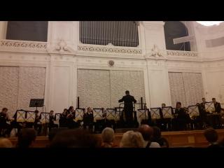 Праздничный концерт духового оркестра морского корпуса Петра Великого 4 ноября 2016 года