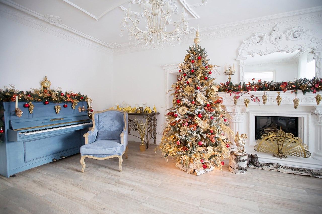 фотостудия москва новогодние декорации на карте