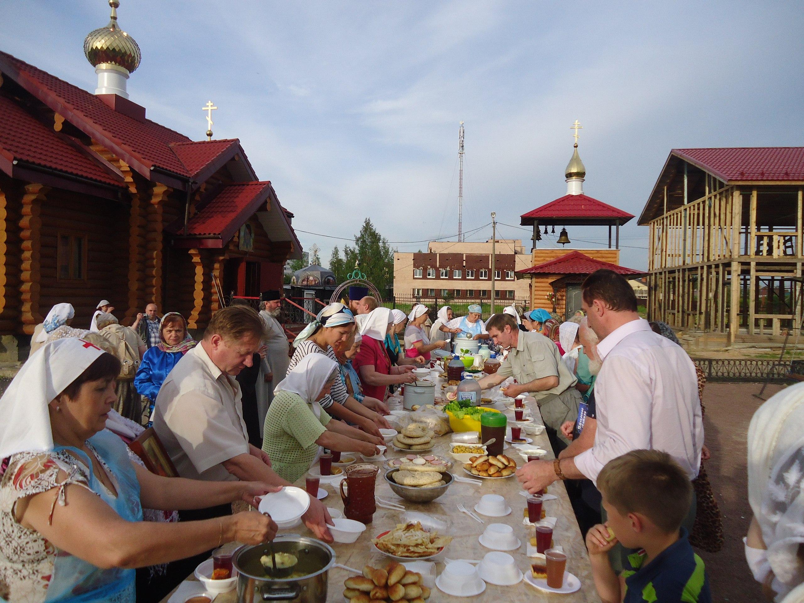 Посещение нашего храма крестного хода