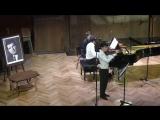 Ф. Шуберт Фантазия для скрипки и фортепиано до мажор, соч. 159 Даниил Коган (скрипка) Люка Дебарг (фортепиано)