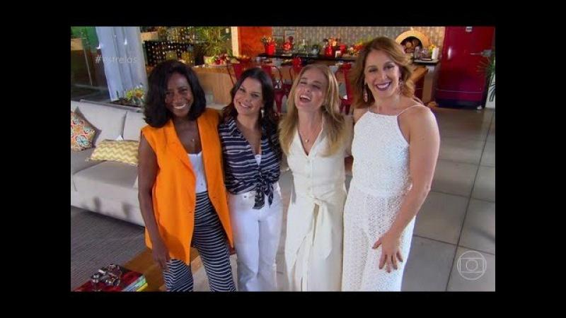 Estrelas - 24/09/2016   reúne Claudia Raia, Fernanda Souza e Glória Maria para um debate.