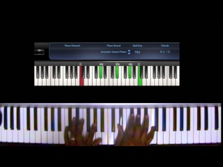 Encourage Yourself (Db) (Donald Lawrence) [Pocket Piano Tutorial]