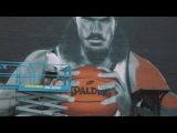 Steven Adams OKC Thunder mural - Graham