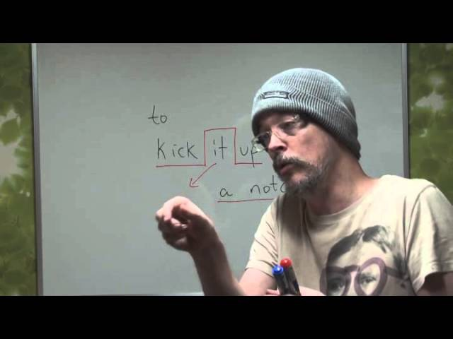 Learn English Daily Easy English Expression 0049 -- 3 Minute English Lesson Kick it up a notch