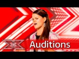 Saara Aalto makes Nicole want to twerk!  Auditions Week 1  The X Factor UK 2016