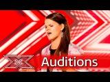 Saara Aalto makes Nicole want to twerk!  Auditions Week 1  The X Factor UK 2016