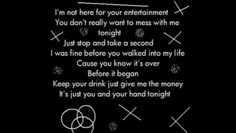 Pink - U Ur Hand [Lyrics]